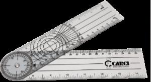 fisioterapia carci goniometro grande e PVC acrilico 1270
